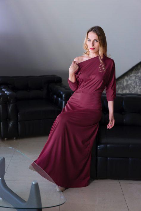 Платье вечернее, длинное