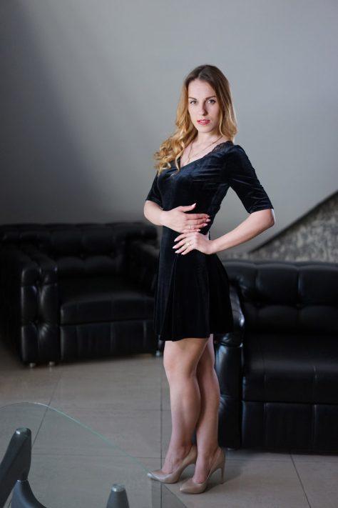 Платье бархатное , короткое